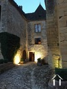 Castle XIII c. in middle of little village in the Dordogne Ref # GVS4944C image 11