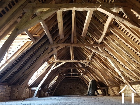 Water mill 14th C with house and barn to restore on 1 ha. Ref # GVS4874C Main picture