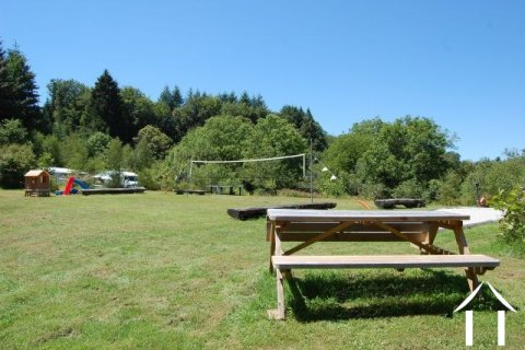 Campsite in the Limousin Ref # Li246