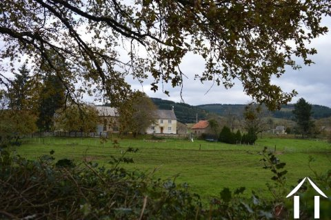 Country house with outbuildings, a spring and almost 5 acres  Ref # Li600 Main picture