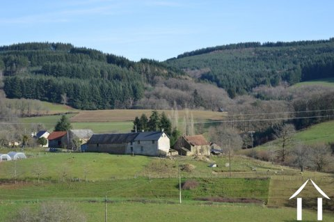 Farmhouse on 14,2 acres with 2 sources and outbuildings Ref # Li605 Main picture