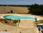 Exceptional Restored Farmhouse with Pool and Superb Views  Ref # BE4515 image 2