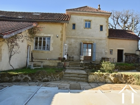Exceptional Restored Farmhouse with Pool and Superb Views  Ref # BE4515 Main picture