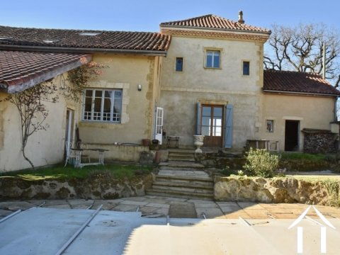 Exceptional Restored Farmhouse with Pool and Superb Views  Ref # BE4515
