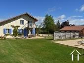 Contemporary property with detached gite, pool and views. Ref # BE4536 image 1