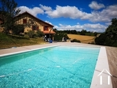 Renovated farmhouse with superb views, pool and gite potent Ref # BE4644 image 1