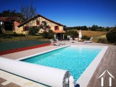 Renovated farmhouse with superb views, pool and gite potent Ref # BE4644 image 2