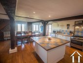 Renovated farmhouse with superb views, pool and gite potent Ref # BE4644 image 6