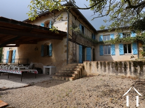 A character property set in an idylic location with 15ha. Ref # EL4541 Main picture