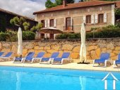 Renovated L shaped character property +gîte + pool Ref # LBD457 image 2