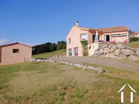 Villa, 4 bedrooms, garages, 2849m² of land, stunning views Ref # LC4629 Main picture