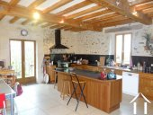 L shaped farmhouse with 2 gîtes on 2489 m² of land Ref # lbd446 image 3