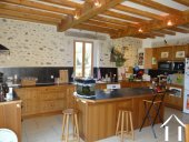 L shaped farmhouse with 2 gîtes on 2489 m² of land Ref # lbd446 image 4