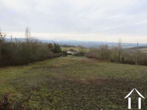 Building plot 1386m2 with stunning views of the Pyrenees. Ref # MP7032