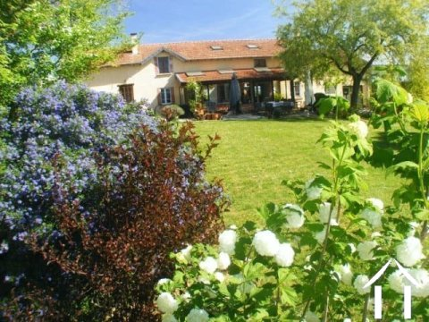 Renovated farmhouse with gite, land 1.5ha and stunning views of the Pyrenees. Ref # MP9017