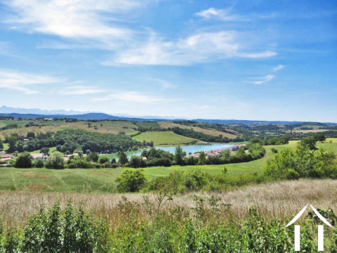 Building plot with magnificent views to the Pyrenees Ref # MP9055