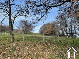 Building plot with views of the Pyrenees.