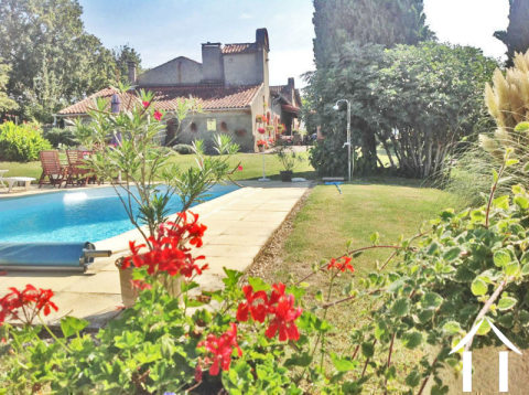 Farmhouse on 9634 m2 of land and views pyrenees Ref # MP9048 Main picture