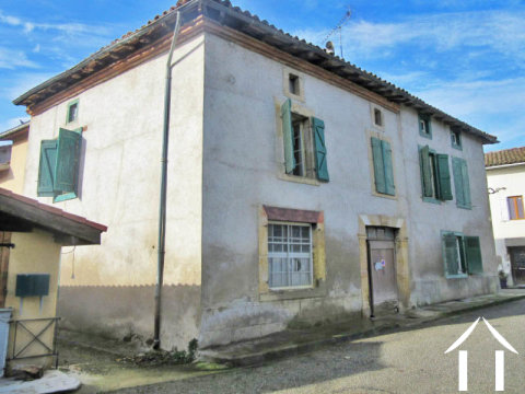 Village house with non attached barn and garden Ref # MP9077