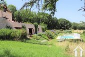 Renovated barn on 3600m2 of garden with pool and views Ref # MPLS1006 image 2