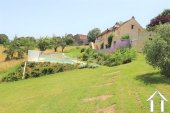 Renovated barn on 3600m2 of garden with pool and views Ref # MPLS1006 image 1