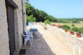 Renovated barn on 3600m2 of garden with pool and views Ref # MPLS1006 image 5