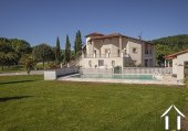 Great Provençal villa with swimmin pool, garden and beautiful views on the pyrenées. Ref # MPOA1850 image 14