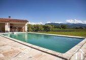 Great Provençal villa with swimmin pool, garden and beautiful views on the pyrenées. Ref # MPOA1850 image 16