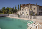 Great Provençal villa with swimmin pool, garden and beautiful views on the pyrenées. Ref # MPOA1850 image 1