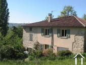 Stone house with garden and a beautiful views to the Pyrenees Ref # MPOA1851 image 2
