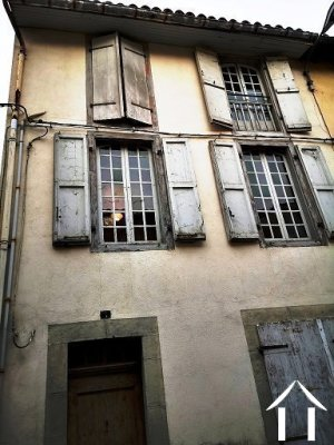 Ancient building stone to renovate entirely in Saint Girons Ref # MPOA1856