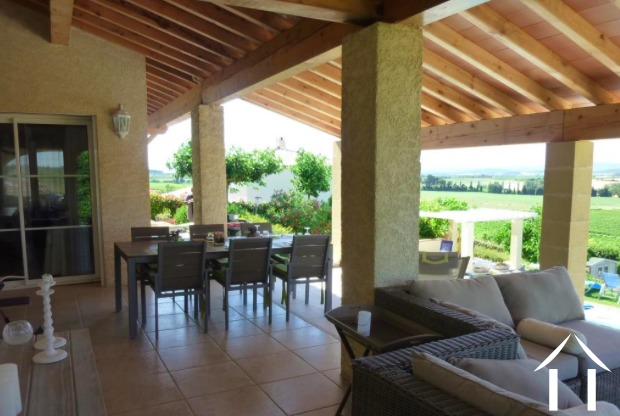 Luxury villa (187m2) with views of the Pyrenees, pool and 2,600m2 of land Ref # MPOP0055 image 7