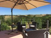 Contemporary 5 bedroom French villa style house (160m2) with large pool, several large terraces, garage and large landscaped gardens (6,990m2) with wonderful panoramic views Ref # MPOP0062 image 6