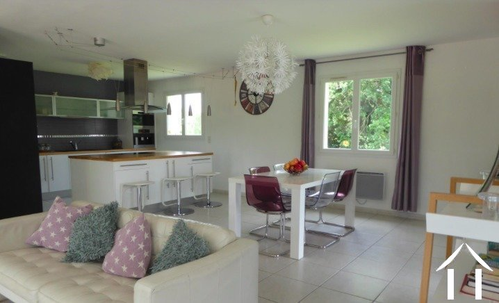 Contemporary 5 bedroom French villa style house (160m2) with large pool, several large terraces, garage and large landscaped gardens (6,990m2) with wonderful panoramic views Ref # MPOP0062 image 8