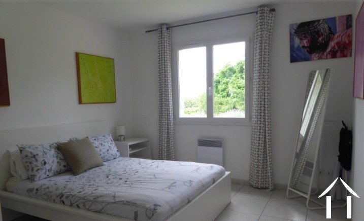 Contemporary 5 bedroom French villa style house (160m2) with large pool, several large terraces, garage and large landscaped gardens (6,990m2) with wonderful panoramic views Ref # MPOP0062 image 11