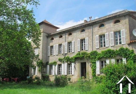 19th Century Manor house near Carcassonne Ref # MPOP0064 Main picture