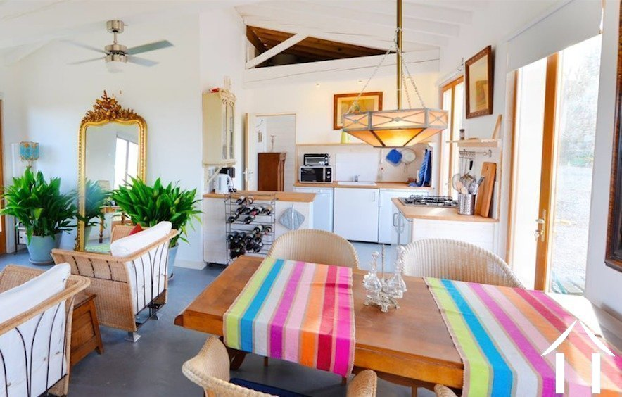 Beautifully renovated 19th century windmill (244m2) with guest house, swimming pool and 1.82 hectares of grounds with panoramic views. Ref # MPOP0066 image 14