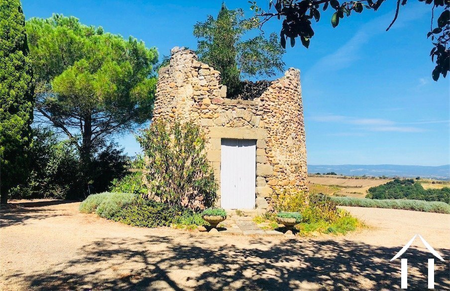 Beautifully renovated 19th century windmill (244m2) with guest house, swimming pool and 1.82 hectares of grounds with panoramic views. Ref # MPOP0066 image 3