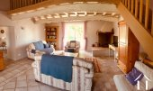 Spacious French farmhouse (450m2) consisting of 2 adjoining houses on 24,400m2 of land and heated swimming pool Ref # MPOP0072 image 17