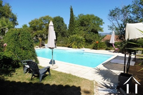 In a lovely village about 15km north of Pézenas a stunning B&B complex in an excellent condition. Th Ref # MPPMLP482 Main picture