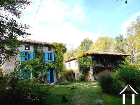 Two ancient character, stone-built houses with garden(3345m²) in a secluded location. Ref # MPPOA1826