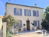 A traditional 4 bedroom French home (198m2) with separate gîte (75m2), swimming pool, landscaped gar Ref # MPPOP0028 image 1