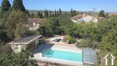 A traditional 4 bedroom French home (198m2) with separate gîte (75m2), swimming pool, landscaped gar Ref # MPPOP0028 image 9