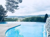 Beautifully renovated chateau, split into 4/5 separate dwellings, 2 houses, an infinity pool, wooden Ref # MPPOP0032 image 2