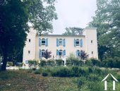 Beautifully renovated chateau, split into 4/5 separate dwellings, 2 houses, an infinity pool, wooden Ref # MPPOP0032 image 3