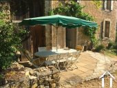 A carefully restored corner of a chateau (180m2) with 4/5 bedrooms and terraced garden (1290m2). Ref # MPPOP0035 image 7