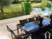 .4 bedroom villa (158m2) with beautiful garden (4400m2) and swimming pool.  Walking distance from a Ref # MPPOP0047 image 9
