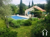Spacious French house (165m²) with 4 bedrooms over 2 floors with beautiful views of the mountains ov Ref # MPPOP0071 image 1