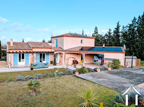 Light and airy, 4 bedroom modern French villa with beautiful views and an energy efficiency rating o Ref # MPPOP0087 Main picture