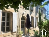 Charming 4/5 bedroom guest house (250m2) with two gites, art gallery/studio, 3 large garages, cellar Ref # MPPop0076 image 1